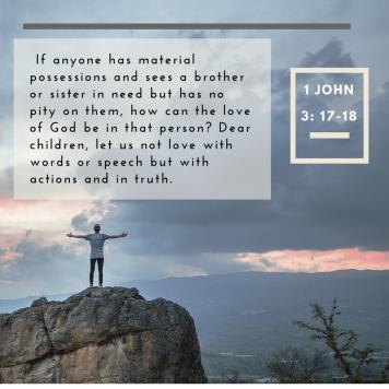 1 John 3-17-18